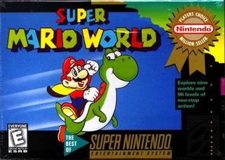 Super Mario World - PS3 cover