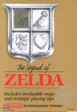 The Legend Of Zelda - Wii Virtual Console cover