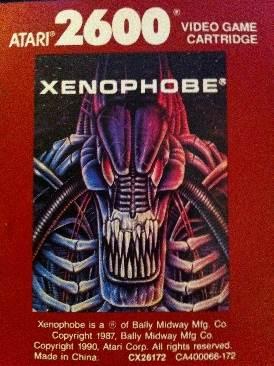 Xenophobe - Atari 2600 cover