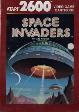 Space Invaders - Atari 2600 cover