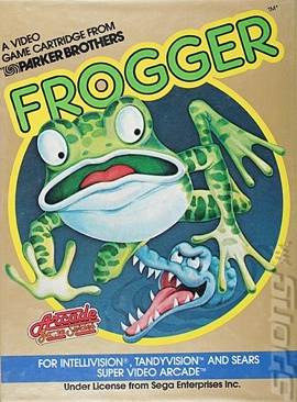 Frogger - Intellivison cover