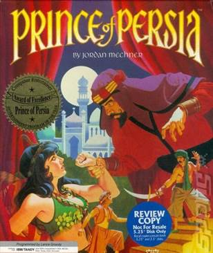 Prince of Persia - PC cover