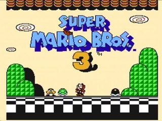 Super Mario Bros. 3 - 3DS cover