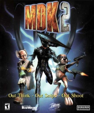 Mdk 2 - PC cover