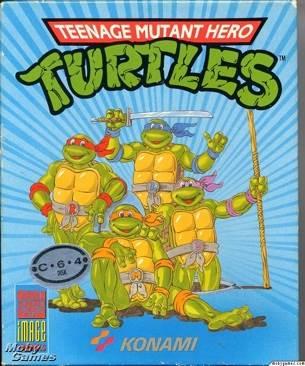 Teenage Mutant Ninja Turtles - Commodore Amiga cover