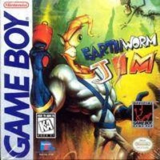 Earthworm Jim - Game Boy cover