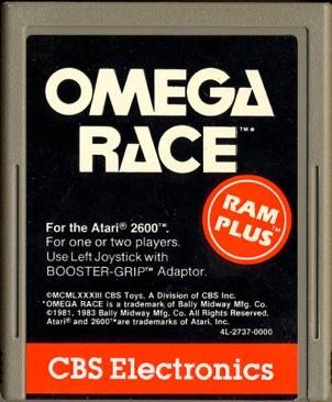 Omega Race - Atari 2600 cover