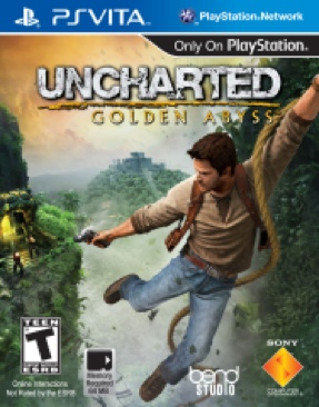 Uncharted: Golden Abyss - PS Vita cover