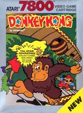 Donkey Kong - Atari 7800 cover