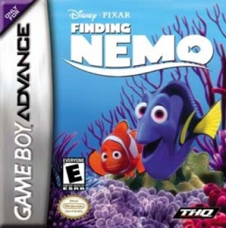 Finding Nemo - Game Boy cover
