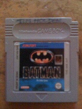 Batman  - Game Boy cover