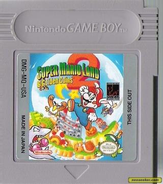 Super Mario Land 2 - Atari 2800 cover