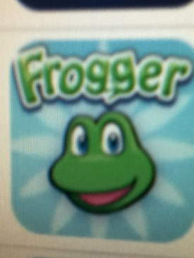 Frogger - Apple iPhone/iPod Touch cover