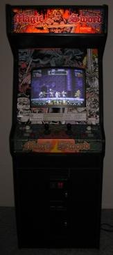 Magic Sword - Arcade cover