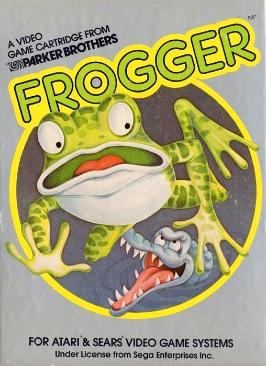 Frogger - Atari 2600 cover