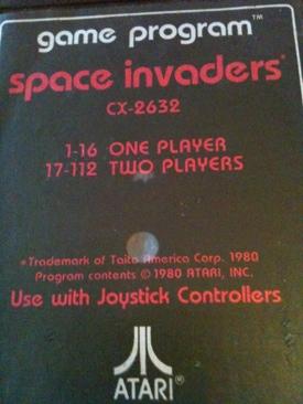 Space Invaders - Atari 2600 cover