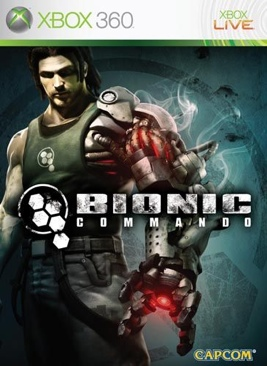 Bionic Commando - Xbox 360 cover