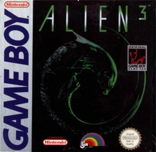 Alien 3 - Game Boy cover