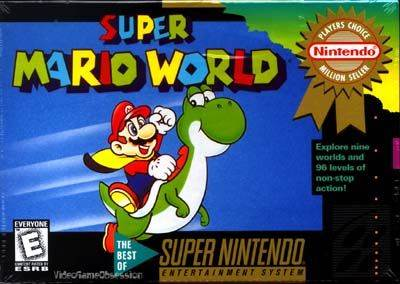 Super Mario World - Wii Virtual Console cover