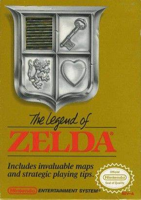 The Legend Of Zelda - NES cover