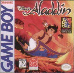 Aladdin - Game Boy cover
