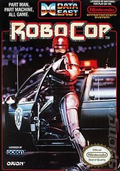 ROBOCOP - NES cover