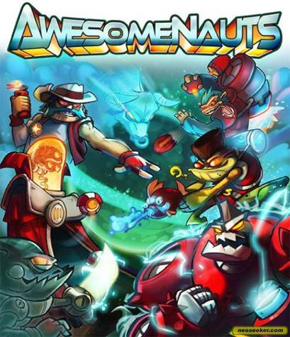 Awesomenauts - Playstation Network cover