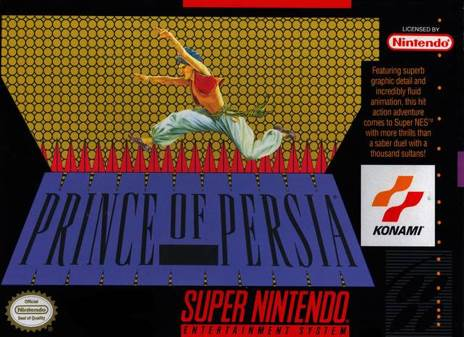 Prince of Persia - Wii Virtual Console cover