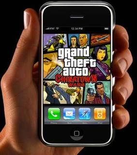 Grand Theft Auto IV - Apple iPhone/iPod Touch cover