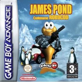 James Pond II Codename: Robocod - Game Boy Advance cover
