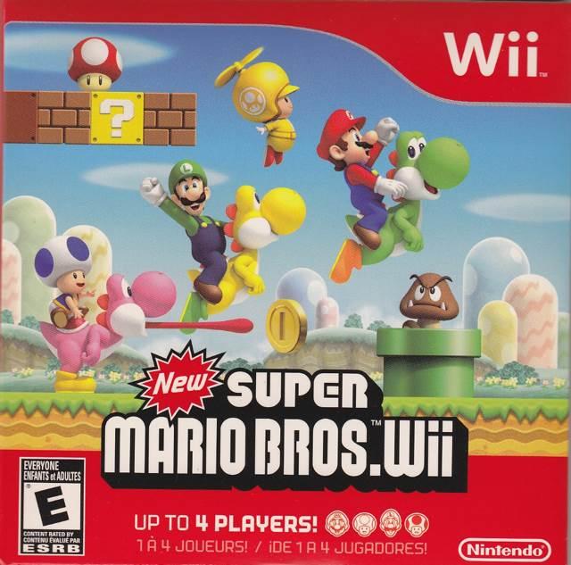 New Super Mario Bros. Wii - Wii cover