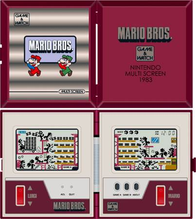 Mario Bros. - Game and Watch cover