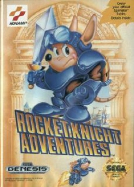 Rocket Knight Adventures - Xbox Live cover