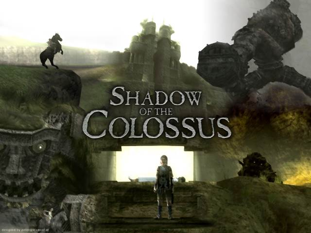 SHADOW OF THE COLOSSUS - Playstation Network cover