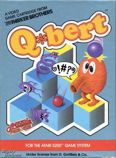Q-Bert - Atari 5200 cover