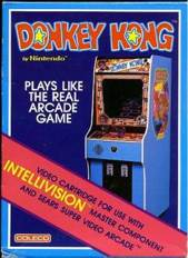 Donkey Kong - Intellivison cover