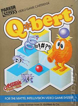 Q-Bert - Intellivison cover