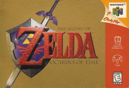 The Legend of Zelda: Ocarina of Time - Nintendo 64 cover