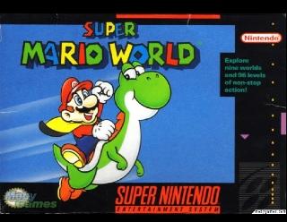 Super Mario World - Wii U cover