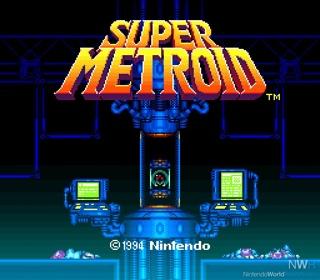 Super Metroid - Wii U cover