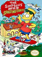The Simpsons Bart Vs The Space Mutants - NES cover