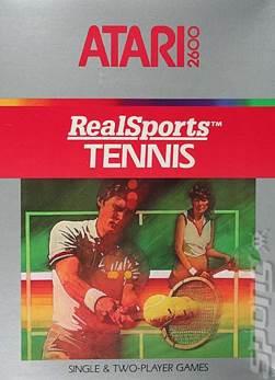 Realsports Tennis - Atari 2600 cover