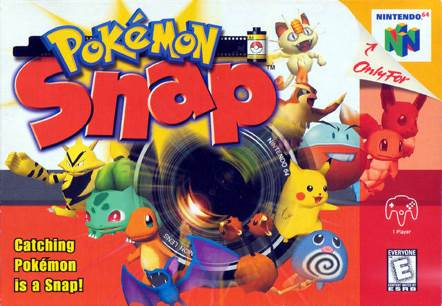 Pokemon Snap - Nintendo 64 cover