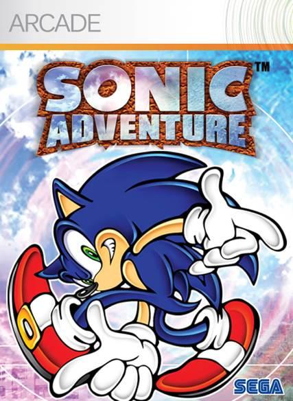 Sonic Adventure - Xbox Live cover