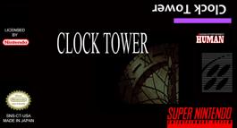 Clock Tower - Super NES cover