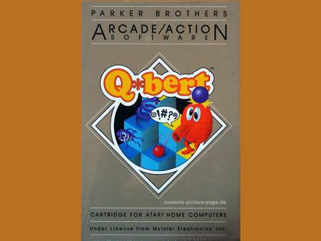 Q*bert - Atari 2700 cover