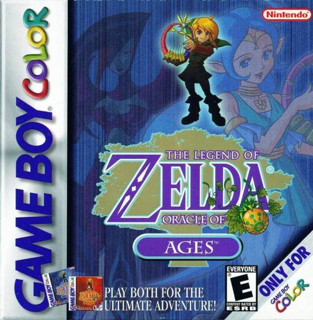 The Legend of Zelda: Oracle of Ages - Game Boy Color cover