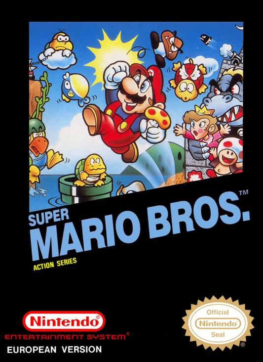 Super Mario Bros. - NES cover
