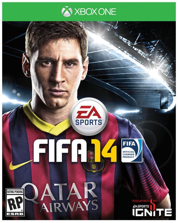 FIFA 14 - Xbox One cover