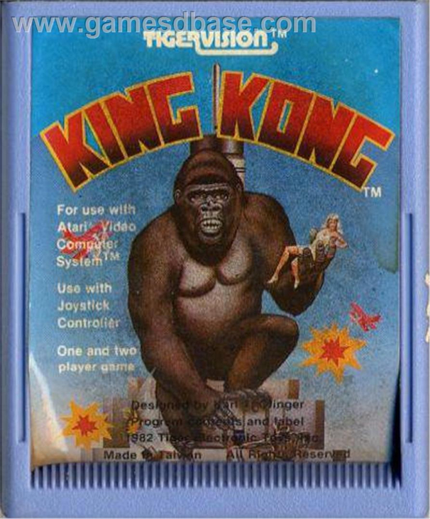 KING KONG - Atari 2600 cover